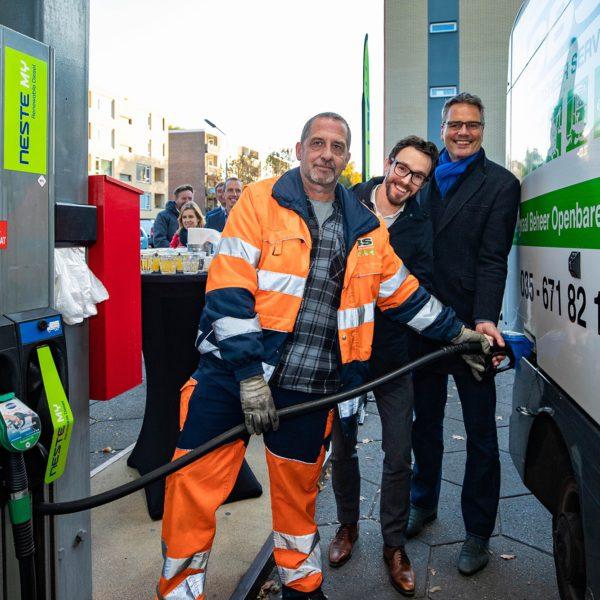 Duurzame diesel in Hilversum